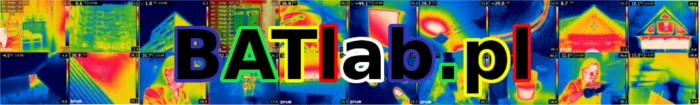 Badania termowizyjne budowli Ustrzyki Dolne