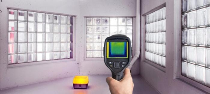 Badania termowizyjne budowli Ustroń
