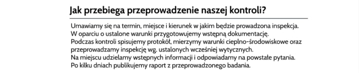 Badanie kolektorów Kolbuszowa