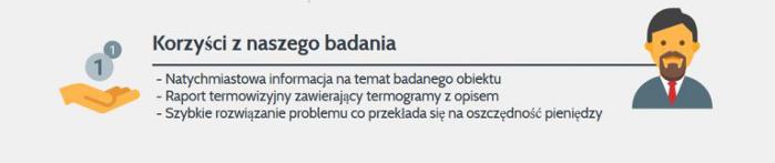 badanie termowizyjne budynków Sandomierz