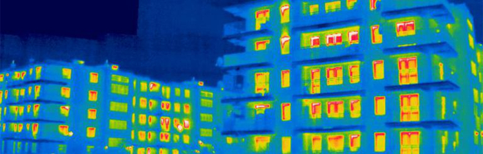 badanie termowizyjne budynków Ogrodzieniec