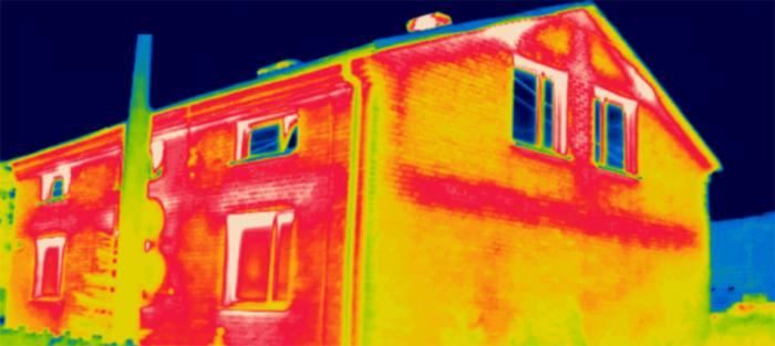 kamera termowizyjna wyciek wody Ogrodzieniec Ogrodzieniec