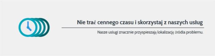 Lokalizacja wycieku z instalacji Łódź