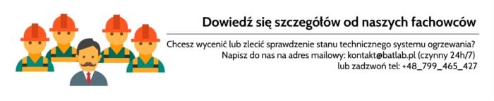 Lokalizacja wycieku za pomocą kamery Łódź