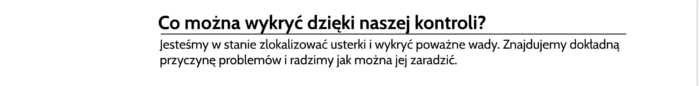 Pomiar temperatury rozdzielni Wodzisław Śląski