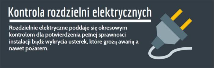 Rozdzielnia prądu kontrola Gliwice