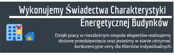Świadectwa energetyczne krakow