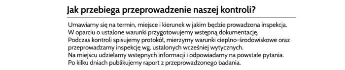 termowizja zastosowanie Warszawa