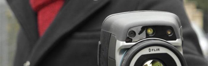 Termowizyjna kamera Zelów