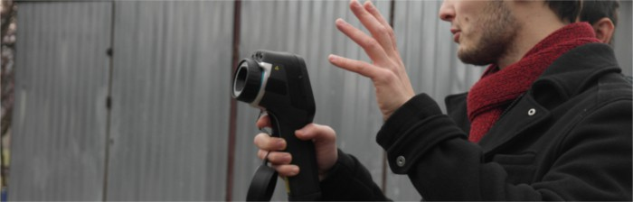 Termowizyjna kamera Żarki