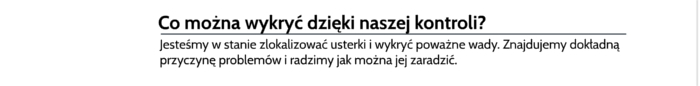 usługi termowizji Skarżysko-Kamienna