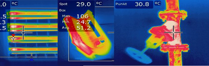 Pomiar temperatury rozdzielni Bełchatów
