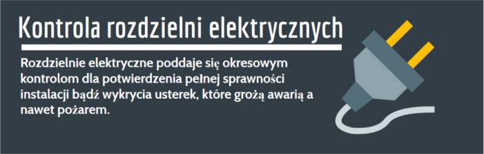 Rozdzielnie elektryczne badania Biecz